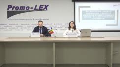 """Prezentarea de către Asociația Promo-LEX a analizei de politici publice """"Implementarea mecanismului compensatoriu pentru detenția în condiții proaste în Republica Moldova – de la (in)eficiență la suspendare"""""""