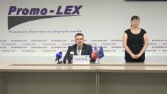 Conferința de presă organizată de Asociația Promo-LEX de lansare a Raportului nr. 5 privind Misiunea de Observare a Alegerilor parlamentare anticipate din 11 iulie 2021