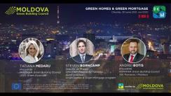 """Conferința de lansare a programului GREEN HOMES&GREEN MORTGAGE de A.O. """"Moldova Green Building Council"""""""