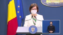 Conferință de presă după ședința Guvernului României din 29 iunie 2021