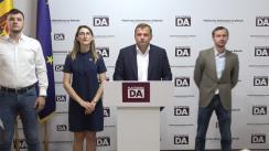 Briefing de presă organizat de Partidul Platforma Demnitate și Adevăr