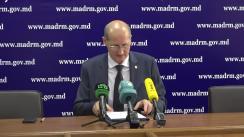 Briefing de presă susținut de Ministrul Agriculturii, Dezvoltării Regionale și Mediului, Ion Perju, privind pagubele înregistrate în sectorul agricol, în urma calamităților naturale din ultimele două luni