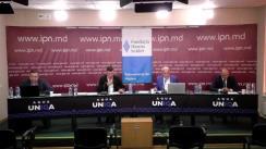 """Dezbaterea electorală """"Analizăm Cererea și Oferta electorală-2021"""" organizată de Agenția de presă IPN. Concurenți: Alianța pentru Unirea Românilor, Partidul Legii și Dreptății, Partidul Acțiune și Solidaritate"""