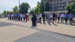 Participarea Ministrului Afacerilor Interne, Lucian Bode, la trecerea în revistă a efectivelor și tehnicii structurilor MAI care vor asigura măsurile de ordine publică  și gestionarea situațiilor de urgență pe litoralul românesc în perioada estivală