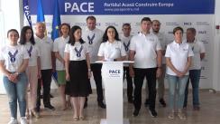 """Briefing de presă organizat de Partidul Acasă Construim Europa cu tema """"Reținerea lui Gheorghe Cavcaliuc la Aeroportul din Moscova"""""""