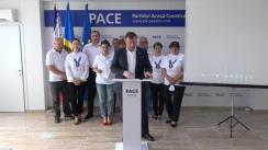 """Briefing de presă organizat de Partidul Acasă Construim Europa cu tema """"Detalii noi despre reținerea lui Gheorghe Cavcaliuc la Moscova"""""""