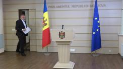 Briefing de presă susținut de fracțiunea PSRM
