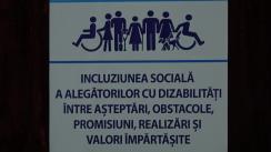 """Dezbaterile publice """"Incluziunea socială a persoanelor cu necesități speciale"""", organizate în contextul Alegerilor parlamentare anticipate din 11 iulie 2021. Participanți: Partidul Acasă Construim Europa, Partidul Puterea Oamenilor, Blocul electoral al Comuniștilor și Socialiștilor, Partidul Platforma Demnitate și Adevăr, Partidul Acțiunii Comune - Congresul Civic, Partidul Acțiune și Solidaritate"""