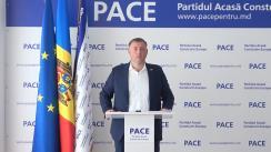"""Briefing de presă susținut de Președintele PACE, Gheorghe Cavcaliuc, cu tema """"Dezvăluiri despre justiție la comanda politicienilor corupți în tandem cu criminalii și procurorii"""""""