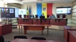 Conferință de presă organizată de Comisia Electorală Centrală pe subiectul organizării alegerilor parlamentare anticipate din 11 iulie 2021