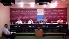 """Dezbaterea electorală """"Analizăm Cererea și Oferta electorală-2021"""" organizată de Agenția de presă IPN. Concurenți: Partidul Democrat din Moldova, Mișcarea Profesioniștilor """"Speranța - Надежда"""", Partidul Unității Naționale"""