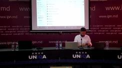 Conferință de presă susținută de ex-viceprimarul Chișinăului, Victor Chironda