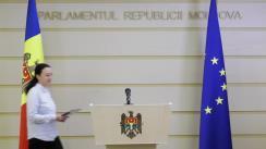 """Briefing de presă susținut de către deputata Fracțiunii ACUM Platforma DA, Inga Grigoriu, cu tema """"Prezentarea Raportului Comisiei de anchetă Laundromat"""""""