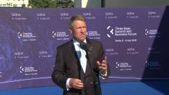 Declarație de presă susținută de Președintele României, Klaus Iohannis, înaintea Summitului Inițiativei celor Trei Mări
