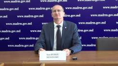 """Briefing de presă susținut de Ministrul Agriculturii, Dezvoltării Regionale și Mediului, Ion Perju, cu tema """"Problema motorinei în plină campanie de recoltare a cerealelor"""""""