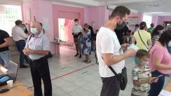 Alegeri Parlamentare 2021: Exercitarea votului de către Președintele Republicii Moldova, Maia Sandu