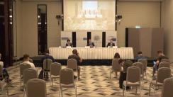 Conferință de presă susținută de observatorii internaționali pentru alegerile anticipate din Moldova
