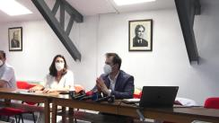 Conferință de presă de la Spitalul de Pneumoftiziologie din Iași, despre secvențierea delta, Covid și valul 4