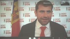 """Briefing de presă susținut de președintele Partidului """"ȘOR"""", Ilan Șor"""