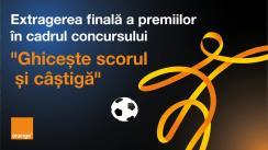 """Extragerea finală a premiilor mari în cadrul Concursului """"Ghicește Scorul și Câștigă"""", Orange Moldova"""
