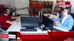 """""""Față în față"""" cu Andrei Giurgia, la VIVA FM Iași. Invitatul zilei Daniel Șandru, fost manager al Operei din Iași"""