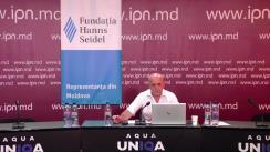 """Dezbaterea publică organizată de Agenția de presă IPN la tema """"Alegerile anticipate 2021: Ce s-a întâmplat, ce se poate întâmpla, pe plan extern?"""""""