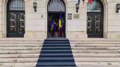 Ceremonia în cadrul căreia angajații cu merite deosebite primesc Emblema de Onoare a Ministerului Afacerilor Interne