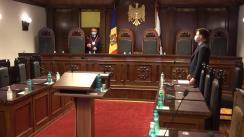 Ședința Curții Constituționale privind examinarea sesizării nr. 200a/2020 privind controlul constituționalității Hotărârii Parlamentului nr. 219 din 3 decembrie 2020 pentru modificarea Hotărârii Parlamentului nr. 149 din 29 noiembrie 2019 privind componența numerică și nominală a Biroului permanent al Parlamentului