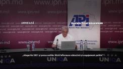 """Dezbaterea online organizată de Asociația Presei Independente cu tema """"Alegerile 2021 și presa online: între informare obiectivă și angajament politic"""""""