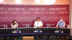 """Conferință de presă susținută de Ala Tocarciuc cu genericul: Lansarea cărții """"Prima Carantină Mondială"""""""