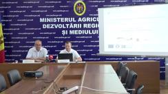 Conferința de lansare a unui Program de grant destinat gestionării specifice a unor fluxuri de deșeuri în Republica Moldova: uleiuri uzate, anvelope uzate și vehicule scoase din uz