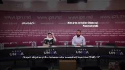 """Conferință de presă organizată de AO """"Planeta Curată"""" și Mișcarea Juriștilor Ortodocși cu tema """"Stopați hărțuirea și discriminarea celor nevaccinați împotriva COVID-19"""""""