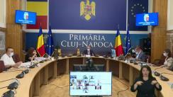 Ședința ordinară a Consiliului local al municipiului Cluj-Napoca din 4 august 2021