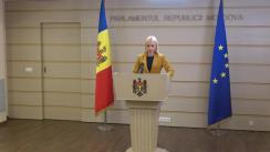 """Briefing de presă susținut de deputații fracțiunii parlamentare a Partidului """"ȘOR"""""""