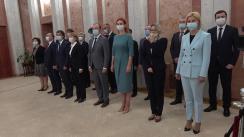 Ceremonia de depunere a jurământului de către membrii Guvernului condus de Natalia Gavrilița