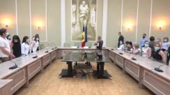 Prezentarea colectivului Ministerului Justiției a noului Ministru, Sergiu Litvinenco