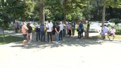 Protest la Curtea de Apel Chișinău în susținerea lui Alexandru Pînzari