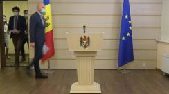 Briefing de presă susținut de către deputații PAS Radu Marian, Vladimir Bolea și Sergiu Lazarenco privind modificarea Legii produselor petroliere