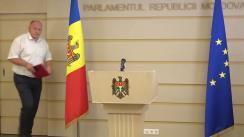 Briefing de presă susținut de deputatul Blocului Comuniștilor și Socialiștilor, Vasile Bolea, după ședința Comisiei juridice, numiri și imunități din 12 august 2021