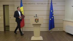 Briefing de presă susținut de către deputații din Fracțiunea parlamentară a Partidului Politic ȘOR