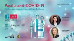 """Evenimentul """"Pastila anti-COVID-19 – Totul despre vaccinul Janssen/Johnson&Johnson"""""""