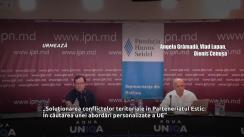 """Dezbaterea publică organizată de Agenția IPN la tema """"Soluționarea conflictelor teritoriale în Parteneriatul Estic: În căutarea unei abordări personalizate a UE"""""""