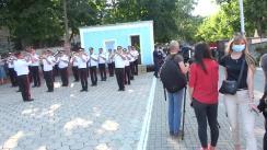 Ceremonia de întâmpinare a salvatorilor și pompieri detașați în misiunea de stingere a incendiilor forestiere din Grecia