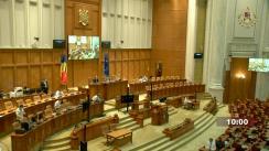 Ședința în plen a Camerei Deputaților României din 19 august 2021