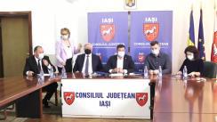 Iași: Semnarea contractului de achiziție a serviciilor de proiectare pentru Institutul Regional de Medicină Cardiovasculară