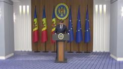 Declarațiile ministrului Infrastructurii și Dezvoltării Regionale, Andrei Spînu, după ședința Guvernului Republicii Moldova din 25 august 2021