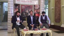 Conferință de presă organizată de Opera Națională Română Iași împreună cu Ateneul Național din Iași, cu tema reînceperii matineelor muzicale la Opera din Iași