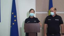 Briefing de presă organizat de Inspectoratul General al Poliției privind măsurile de asigurare și menținere a ordinii publice de Ziua Independenței Republicii Moldova