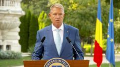 Declarație de presă susținută de Președintele României, Klaus Iohannis, după  ședința de lucru privind începerea noului an școlar
