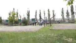 Inaugurarea oficială a Stadionului de fotbal din orașul Sângera, satul Dobrogea
